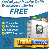Traffic Browser Manual Traffic Exchange Service